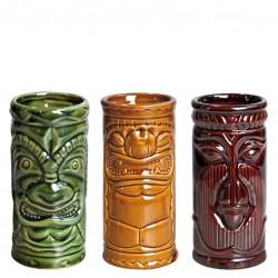 Pahar TIKI - Set 3 buc, 250ml (Ceramic)