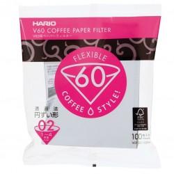 Filtre Hartie - Hario V60, Marime 02, 100 buc
